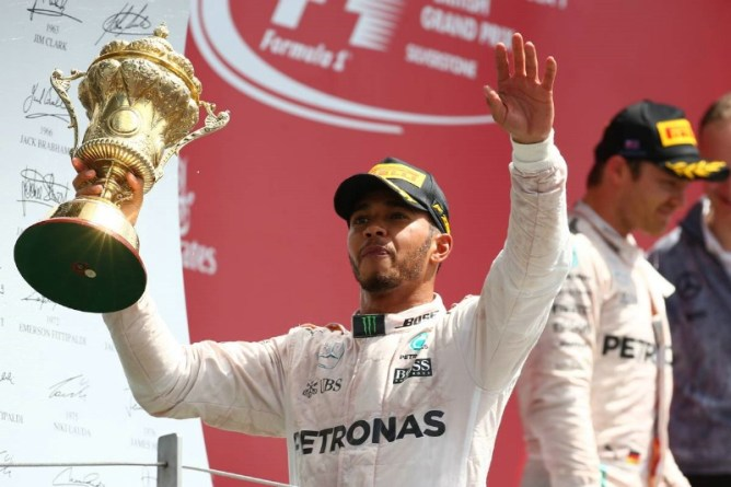 Lewis Hamilton Wins British GP