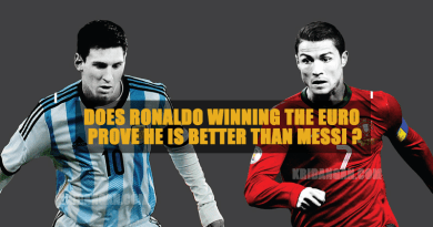 Ronaldo better than Messi