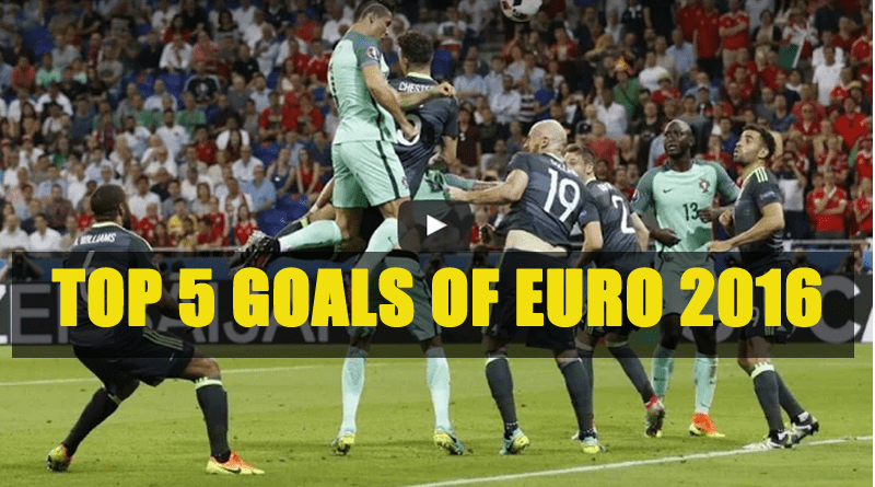 Top 5 Goals of Euro 2016