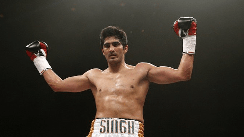 Vijender Singh Wins the WBO Asia Pacific super middleweight belt - Beats Kerry Hope