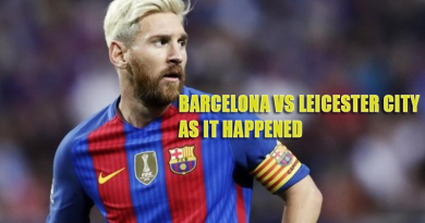 Barcelona vs Leicester City- As it happened