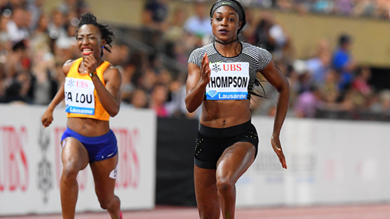 Elaine Thompson Repeats Rio Magic at Lausanne's 11th Diamond League Meeting