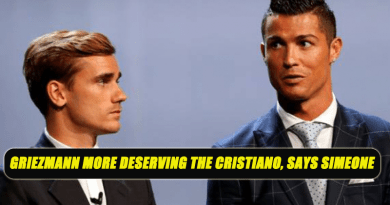 Griezmann more deserving the Cristiano