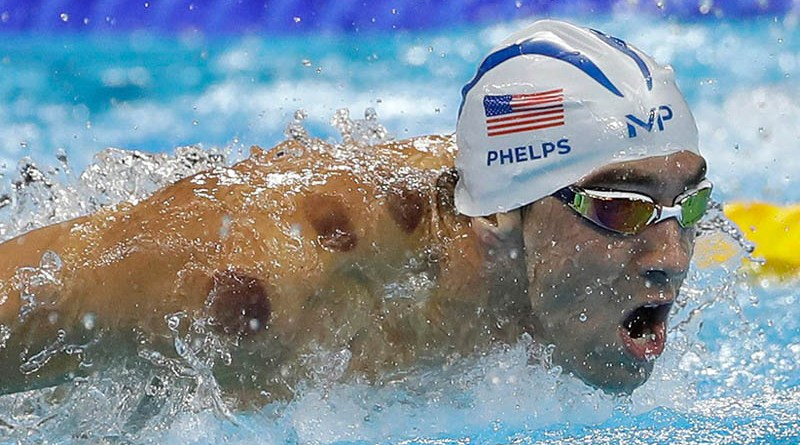 United States' Michael Phelps competes in a heat of the men's 200-meter butterfly during the swimming competitions at the 2016 Summer Olympics, Monday, Aug. 8, 2016, in Rio de Janeiro, Brazil. (Matt Slocum/AP)