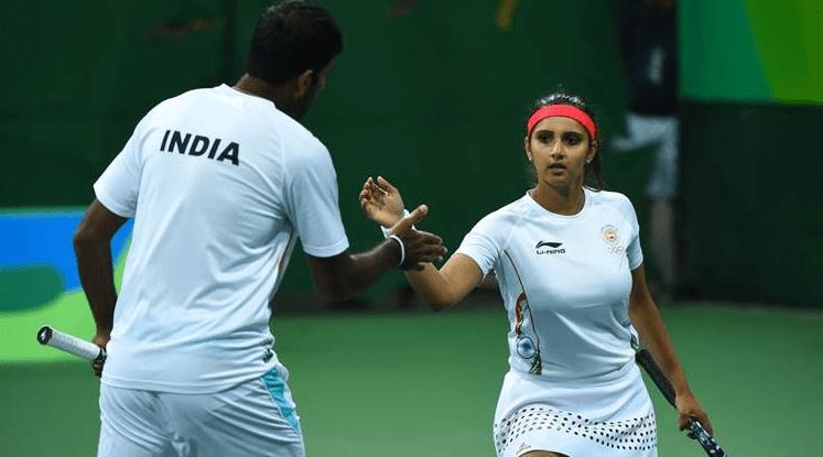 Sania Mirza & Rohan Bopanna
