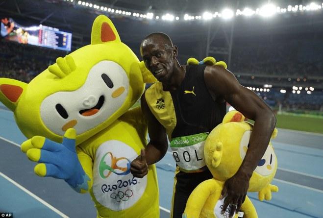 Bolt Beats Gatlin