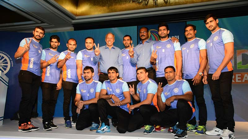 India's Dream Team announced for 2016 Kabaddi World Cup