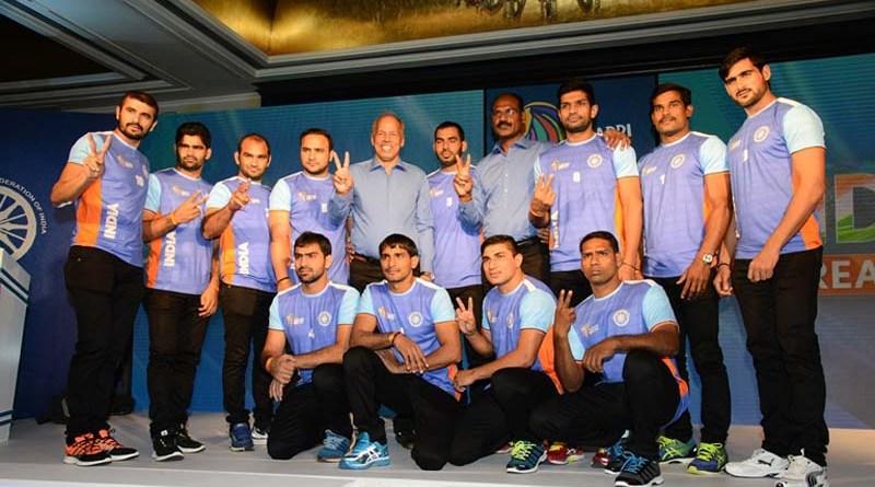India's Dream Team announced for 2016 Kabaddi World Cup