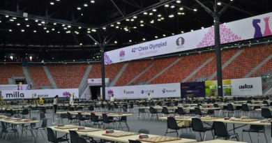 for 42nd Chess Olympiad At Baku