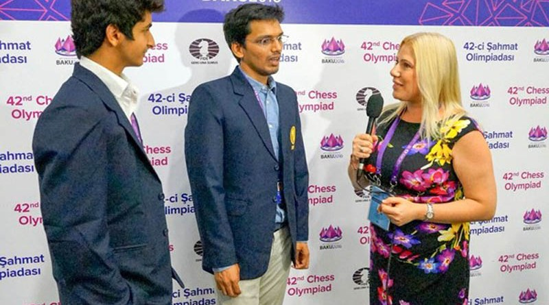 susan-polgar-interviewing-harikrishna-and-vidit