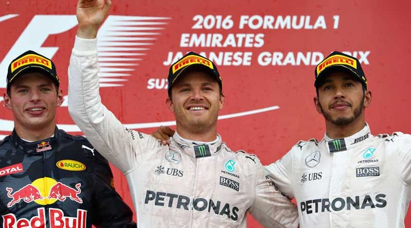 Rosberg on Track for F-1 World Championship with Big Lead on Hamilton after Japanese GP