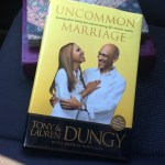 What I'm Reading This Month | Uncommon Marriage by Tony and Lauren Dungy