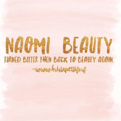 Friday Introductions – Naomi