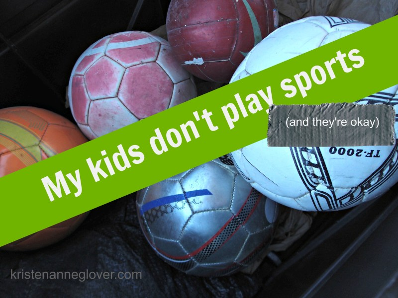 Kids and sports