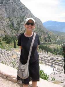 Happy at Delphi