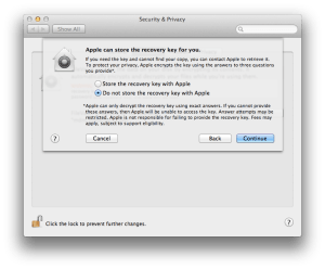 Dealing With Recovery Keys in FileVault 2