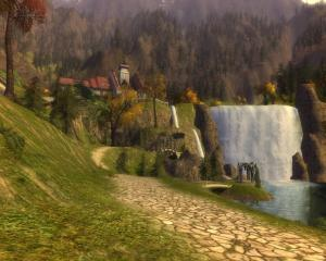 Elf Country - a screenshot from Lord of the Rings Online