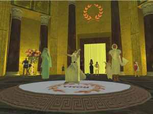 Lumeralia Festival in Roma, Second Life