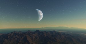 One of uncountable planets in Vladimir Romanyuk's SPACE ENGINE.