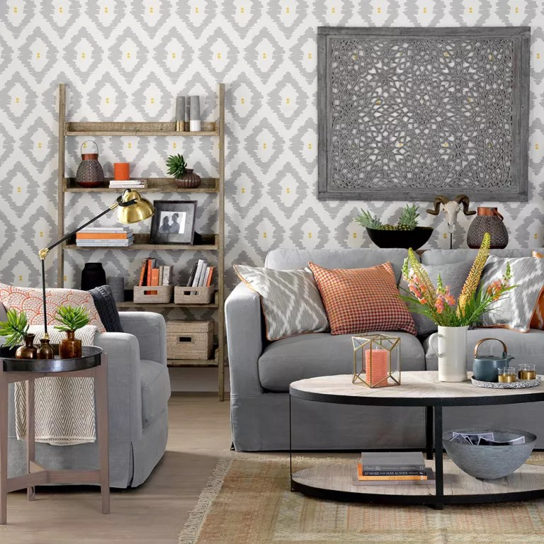 Grey living room ideas   Ideal Home Grey living room ideas Global