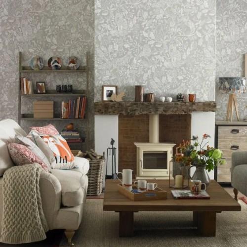 Medium Of Brown Living Room