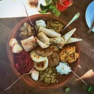 Mittagessen in Georgien