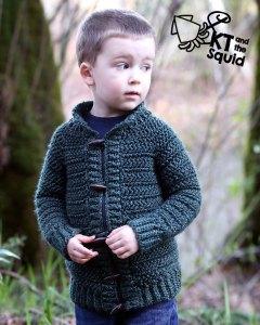 Burnside Cardigan crochet pattern