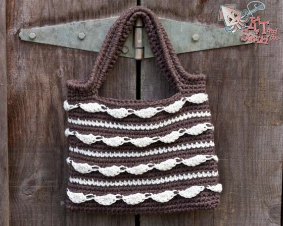 Cloud Dance Tote Free Crochet Pattern