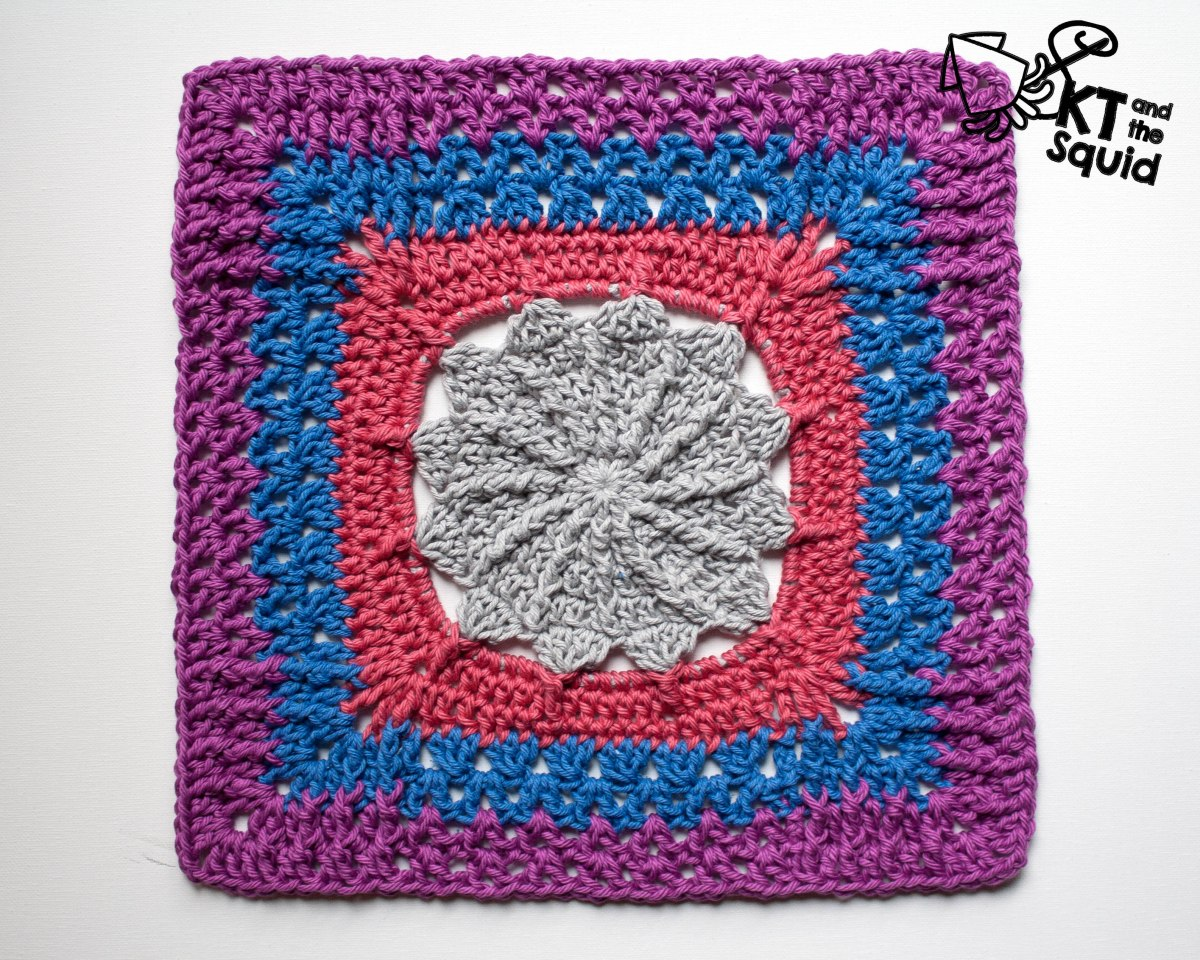 """Skur 12"""" Crochet Square Free Pattern 