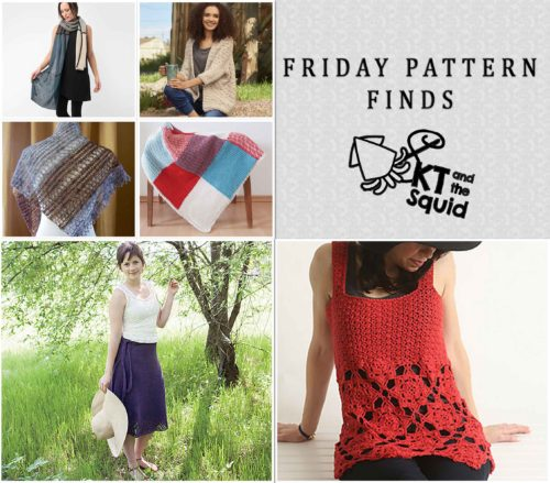 Friday Pattern Finds 5/13/16   KT and the Squid