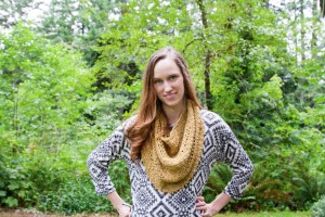 Adna Cowl Pattern Release and Yarn Giveaway | KT and the Squid