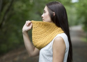 Meskill Cowl FREE Knit Pattern | KT and the Squid
