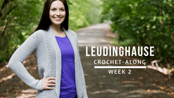 Leudinghause Crochet-Along: Week 2 | KT and the Squid