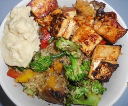 Tofu & Quinoa Bowl