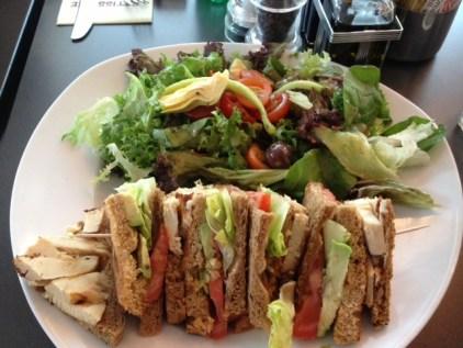 Chicken & Avocado Club Sandwich