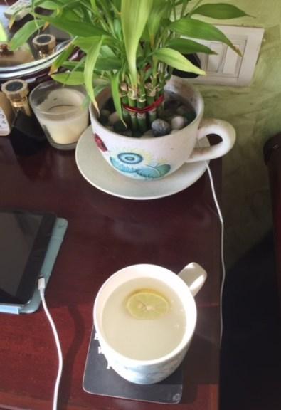 Hot water & lemon