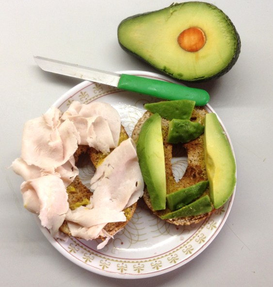 Turkey Avocado Bagel