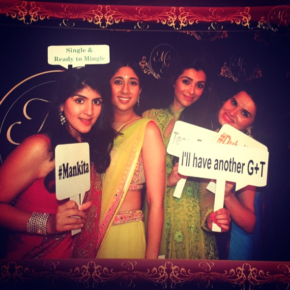 Chads Sangeet Photobooth