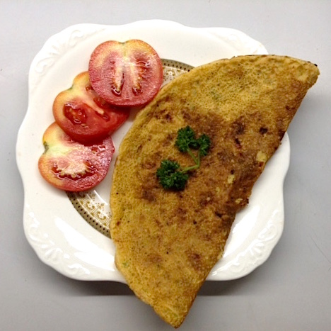 High-Protein Chickpea Omelet