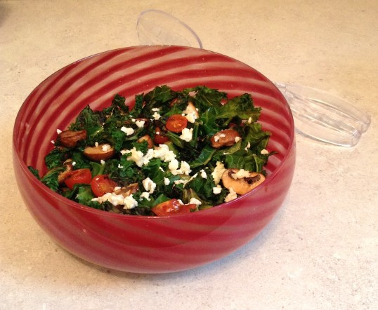 Warm Kale & Feta Salad (1)