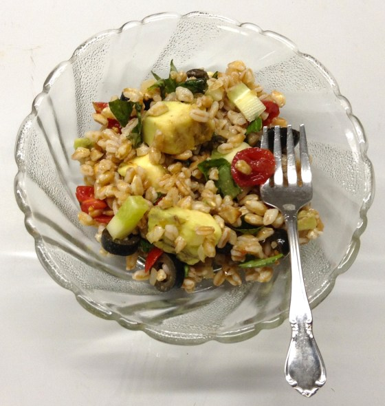 Farro Avocado Salad (small bowl)