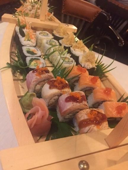 Tatami Sushi close-up