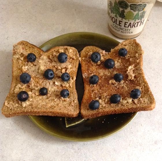 PB + B Toast