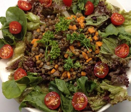 Puy Lentil Salad