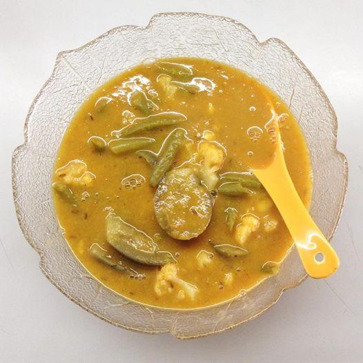 Daal (=spiced lentil stew)
