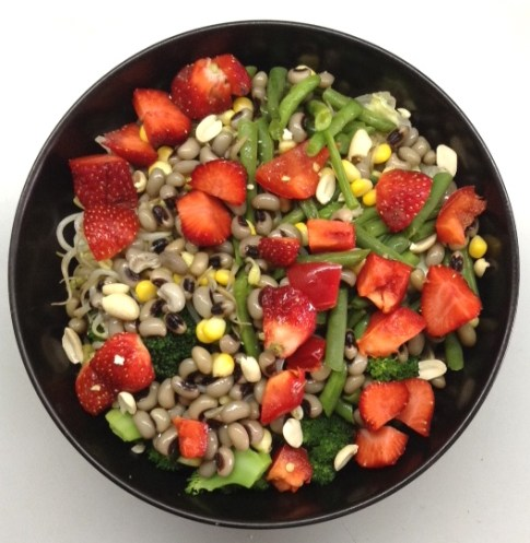 Strawberry Bean Salad