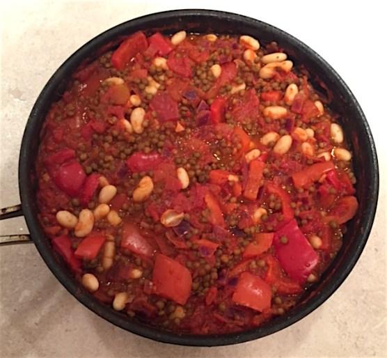 Lentil & Bean Chilli