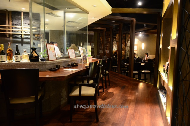 Kuriya japanese restaurant bsc kl always travelicious for 101 hotel palace heights mezzanine floor abids
