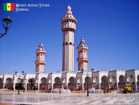 Masjid Agung Touba Senegal