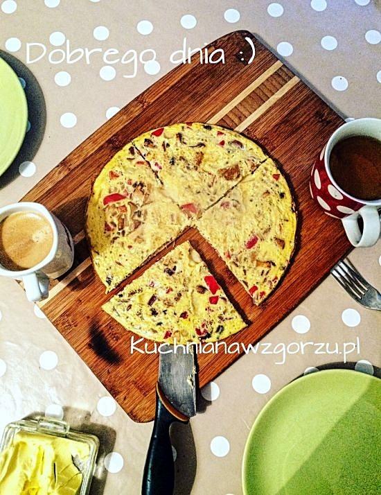 omlet z kurkarmi